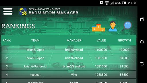 Badminton Manager 1.2.1 screenshots 5