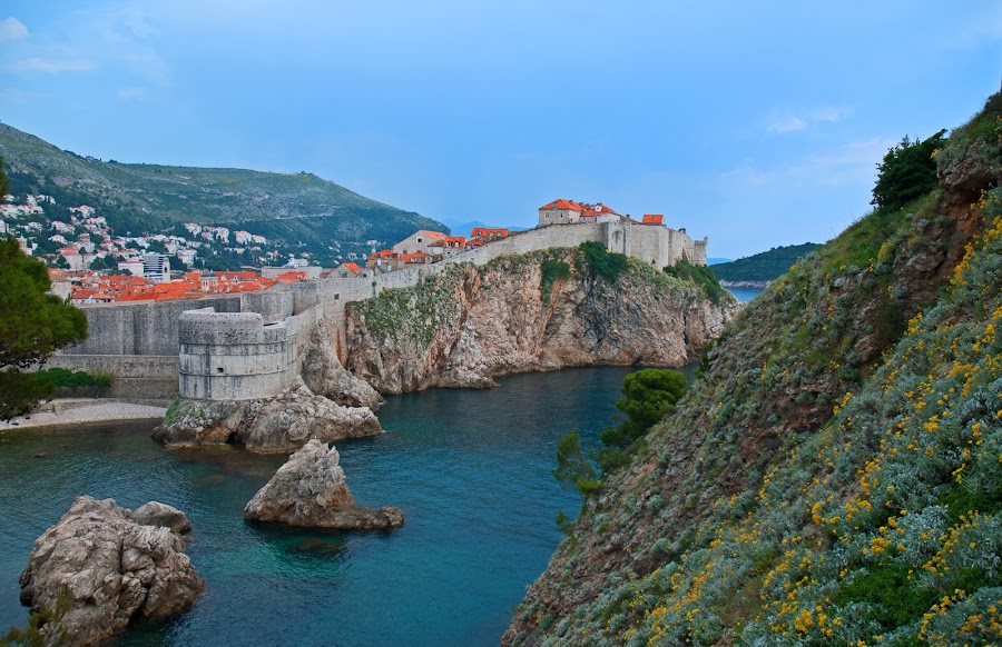 Dubrovnic by Bente Agerup - Buildings & Architecture Public & Historical ( fence, cities, croatia, dubrovnic )