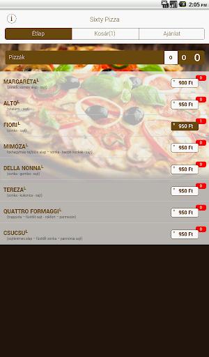 Sixty Pizza