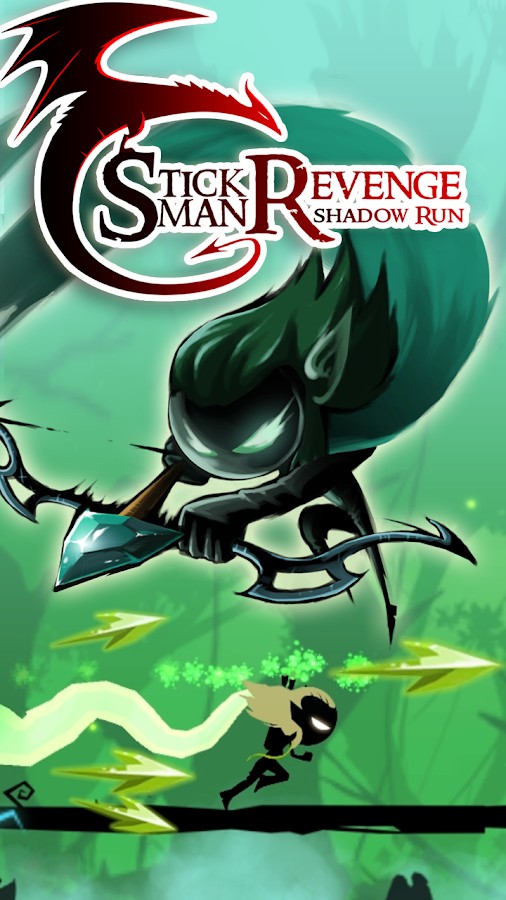 Stickman Revenge: Shadow Run- screenshot