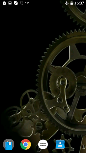 時計作業の動画壁紙