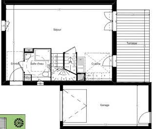 Maison 4 pièces 83,64 m2