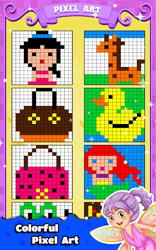 Princess Coloring Book for Kids & Girls Games ud83cudfa8  screenshots 6
