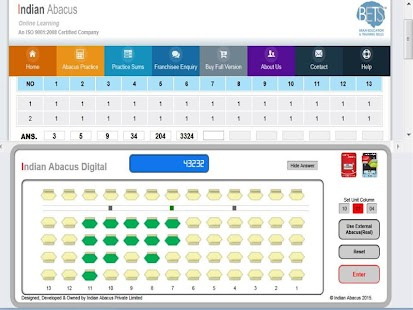 Indian Abacus Free Practice- screenshot thumbnail