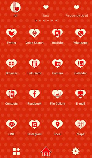 玩免費遊戲APP|下載귀여운 테마 I Love You+HOME app不用錢|硬是要APP