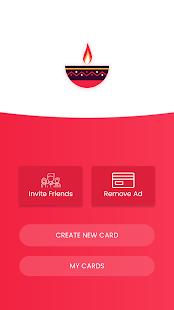 Diwali Wishes Card Maker Latest 2017 - náhled