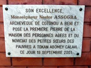 Photo: L'unique maison de retraite béninoise tenue par de courageuses et dévouées religieuses