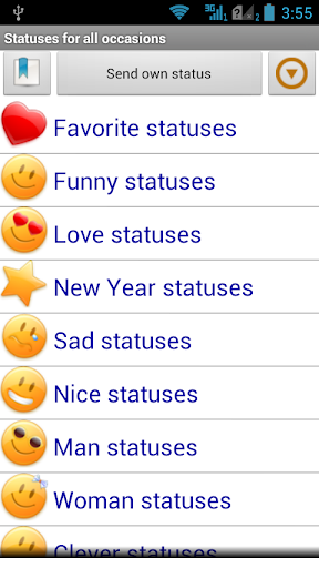 Statuses for all occasions 2.63 screenshots 1