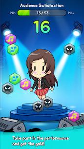 IDOL Evolution – Idol Girls Apk Mod (Dinheiro Infinito + Diamantes) 4
