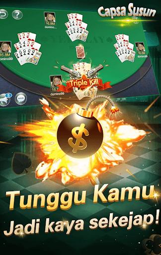 Capsa susun poker bonus  remi  gaple domino online screenshots 4