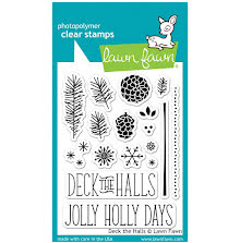 Lawn Fawn Clear Stamps 3X4 - Deck The Halls