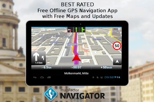 MapFactor GPS Navigation Maps screenshot 9