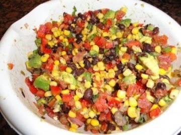 Black Bean & Corn Salsa Recipe