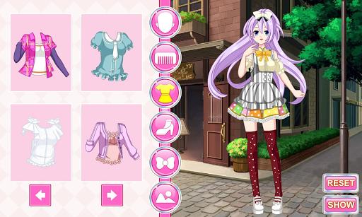 My Anime Manga Dress Up Game 1.0.1 screenshots 2