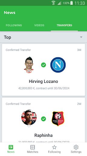 Onefootball - Soccer Scores screenshot 7