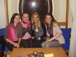 Photo: dámská jízda v Mamitas, zprava Anetka, Kathrin, Katarína a já