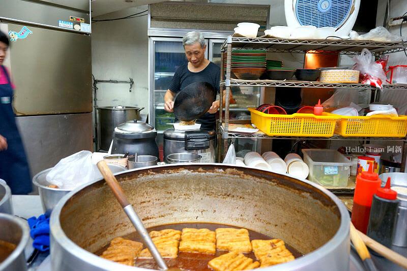 台中西區牛肉麵,龍華閣川味牛肉麵-3