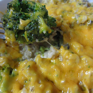 """Real"" Chicken Broccoli Rice Casserole"