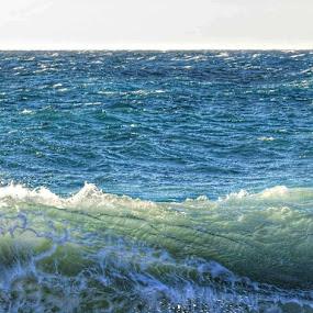 Mare d'inverno by Maksim Maksim - Landscapes Waterscapes