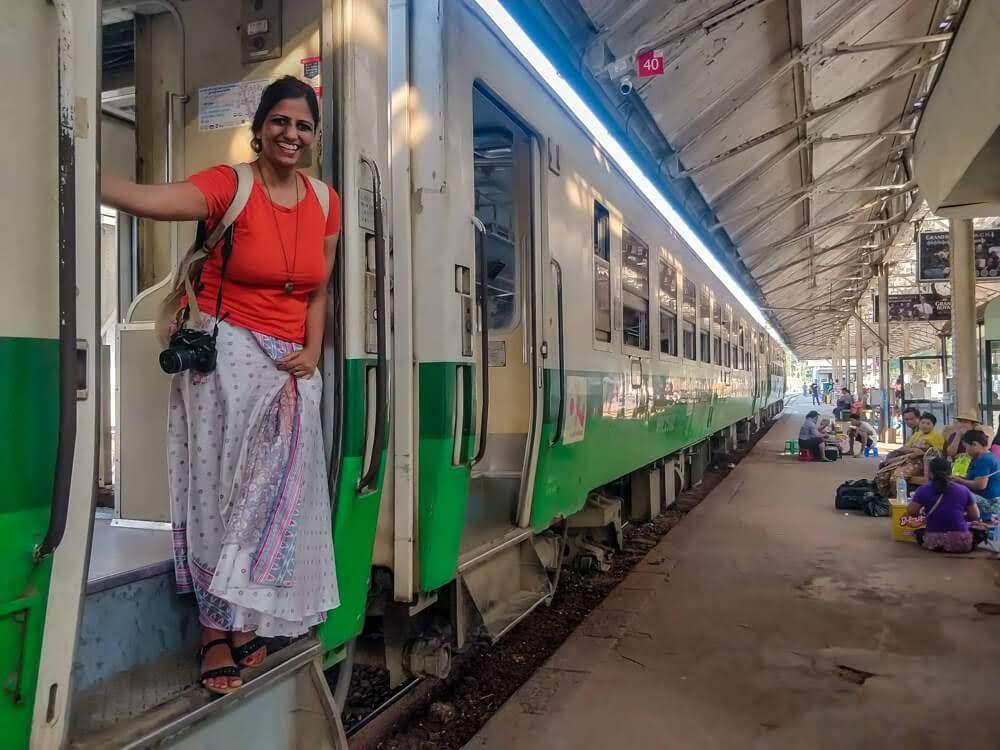 yangon railway station myanmar