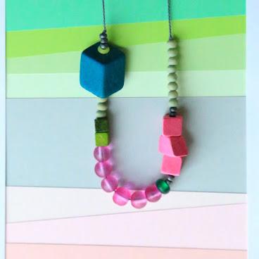 Cubes NX5 necklace