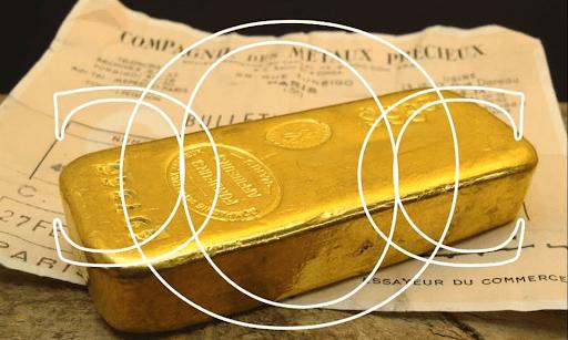 Comptoir de l'or Caladois plaque d'entrée