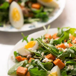 Sweet Potato Arugula Salad.