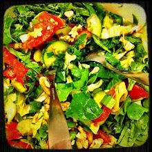 Photo: More salad #intercer - via Instagram, http://instagr.am/p/KDpg1qJfhf/