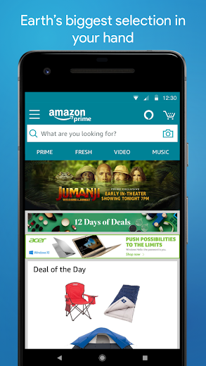 Screenshot 2 for Amazon's Android app'