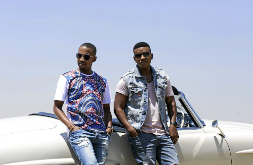Loyiso Bala, right, has teamed up with Sands from Swaziland to release R&B single 'Ndimbonile'. /pHOTOGENIUSTATS