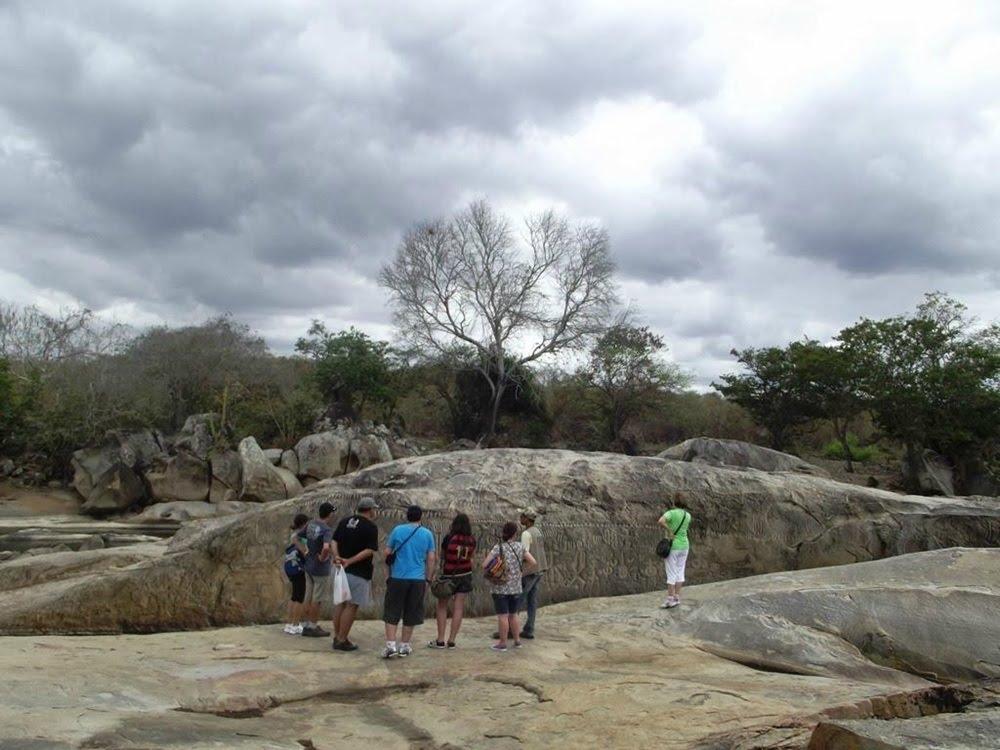 Pedra de Ingá, o enigma da Paraíba