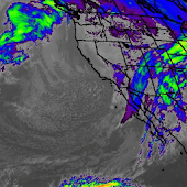 Satellite Weather - Infrared, Water Vapor, Visible