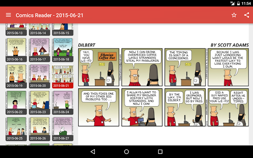 Comic Reader Screenshot