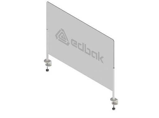 SafetyScreen plexiglass TableStand