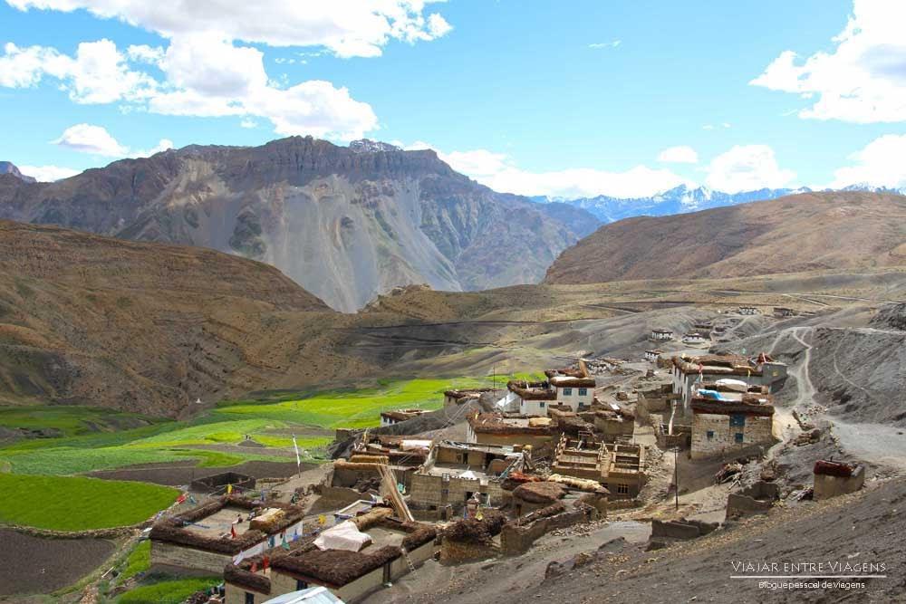 Explorando os mosteiros e aldeias tibetanas próximo de Kaza | Índia