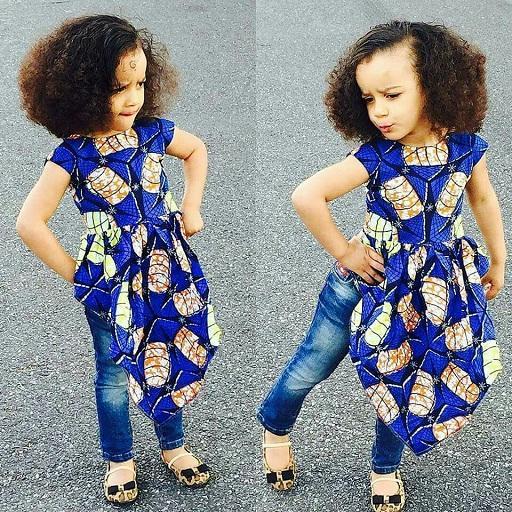 Kids Ankara Fashion