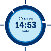 Analog Digital Clock Widget