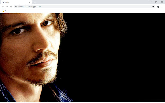 Johnny Depp New Tab & Wallpapers Collection