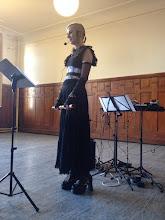 Photo: Nina Haarer, ESS secretary and Gothic Shakuhachi princesse!
