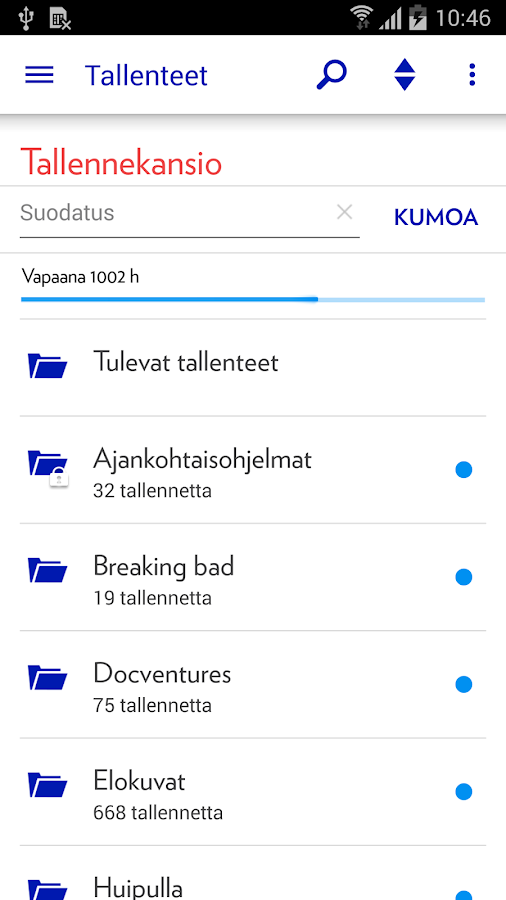 Elisa Viihde- screenshot