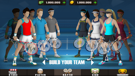 Pocket Tennis League MOD (Unlimited Gold Coins) 3