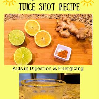 Sunshine Juice Shot Recipe