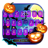 Halloween Pumpkin Keyboard Theme