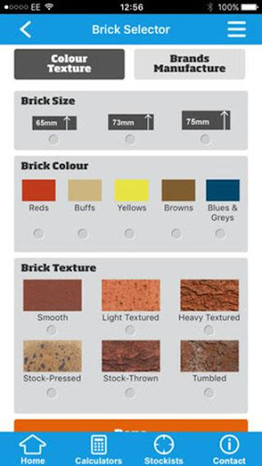 Forterra UK brick and block selector screenshot 3