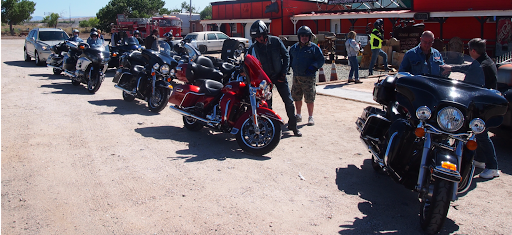 l'ouest américain a moto