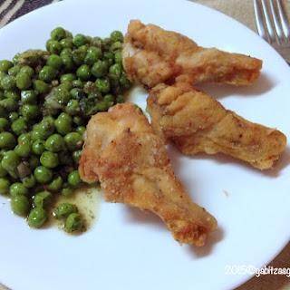Super Easy Green Peas