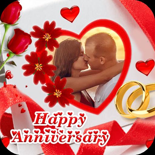 Anniversary Photo Frame Icon