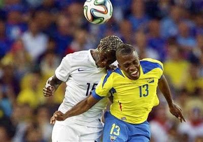 Pas de vainqueur lors de France-Equateur