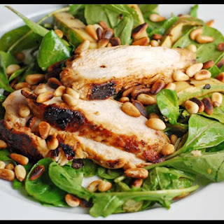 Grilled Chicken and Zucchini Salad