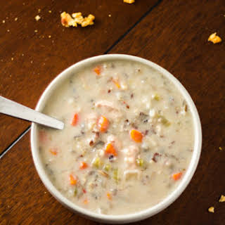 Cream of Chicken and Rice Soup.